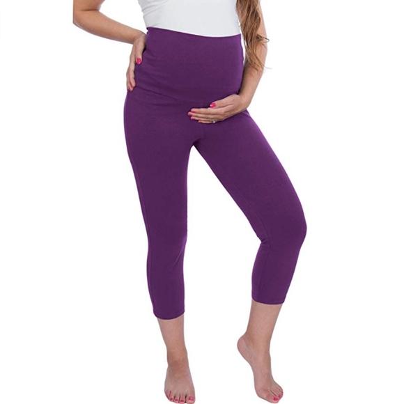 mama yoga capri leggings